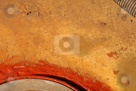 Rusted fishing boat stock photo, Detail on boat. by Ashley Diamond