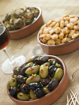 Selection of Tapas stock photo,  by Monkey Business Images