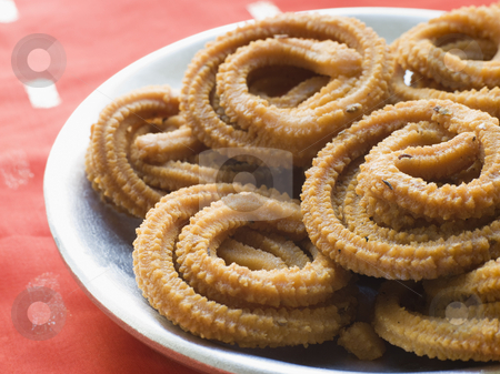 Platter of Chakari stock photo, Close up of Platter of Chakari by Monkey Business Images