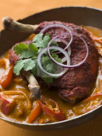 Dish of Makhani Chicken stock photo, Close up Dish of Makhani Chicken by Monkey Business Images