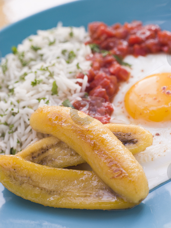 Cuban-Style Rice stock photo,  by Monkey Business Images