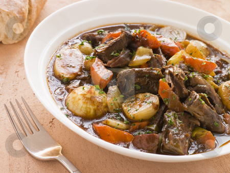 Rabo de Toro- Boneless Oxtail and Potato Stew stock photo,  by Monkey Business Images