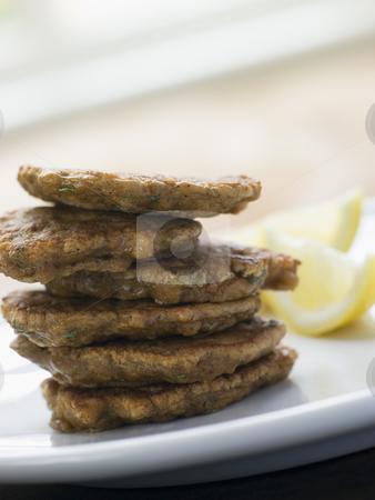 Tortillitas de Camerones stock photo,  by Monkey Business Images