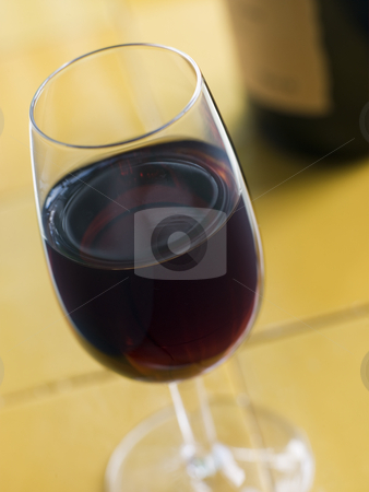 Glass of Sweet Sherry stock photo,  by Monkey Business Images