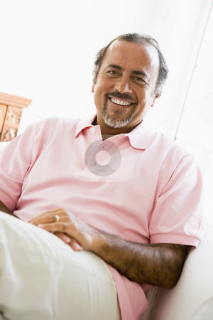 Portrait of a Middle Eastern man stock photo,  by Monkey Business Images