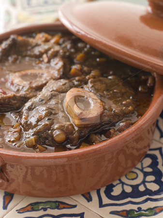 Osso Bucco alla Milanaise stock photo,  by Monkey Business Images