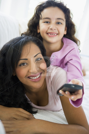 A woman with her daughter stock photo,  by Monkey Business Images