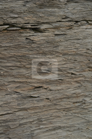 Slate stock photo, Close-up of slate in the Canadian Rockies by Dunja Bond