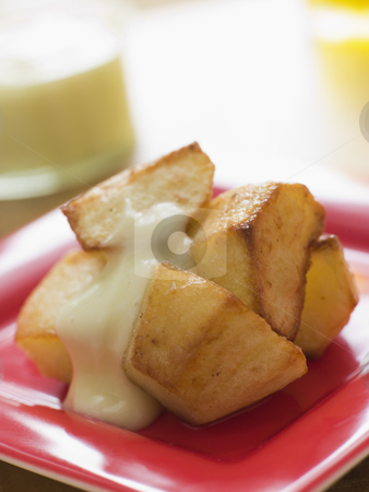 Patatas Allioli stock photo,  by Monkey Business Images