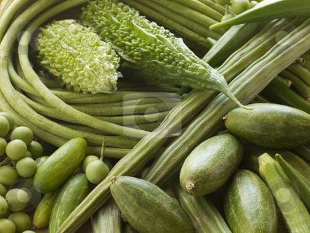 Selection of Asian Vegetables stock photo,  by Monkey Business Images