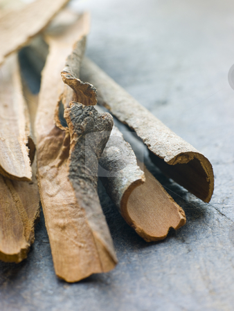 Cinnamon Bark stock photo,  by Monkey Business Images