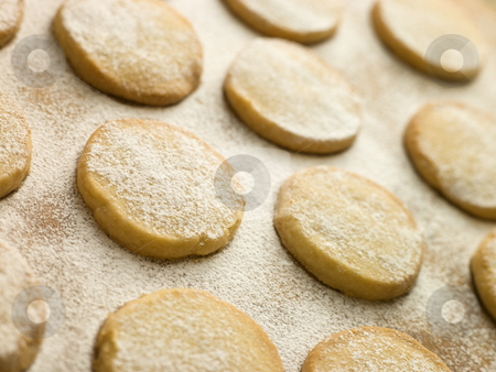 Polvorones Biscuits stock photo,  by Monkey Business Images