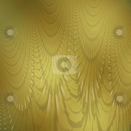Old gold fractal stock photo, Old gold photo background with fractal detail by Milsi Art