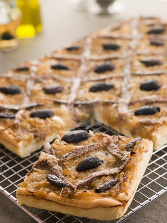 Pissaladiere stock photo,  by Monkey Business Images