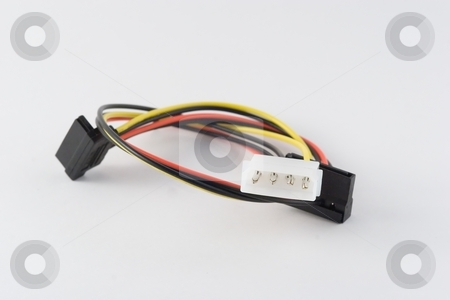 Molex connector stock photo, Molex connector is the vernacular term for a two-piece