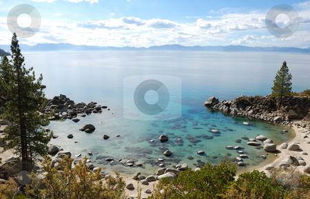 Crystal Clear Water Bay on Lake Tahoe stock photo, Crystal Clear Water Bay on Lake Tahoe with Sunny Skies by Denis Radovanovic