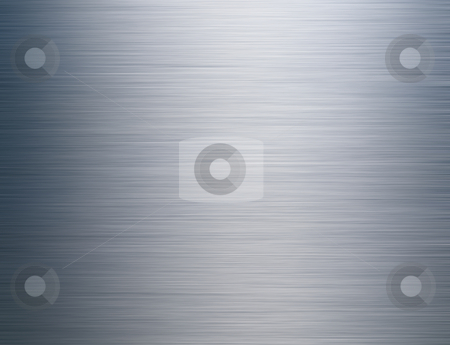 Brushed Steel Background stock photo, Brushed Steel Background by James Rooney