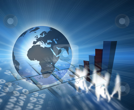 Business  stock photo, Global Business by James Rooney
