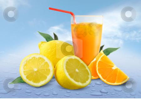 Fruit Juice stock photo, Fruit Juice by James Rooney