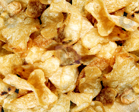 Snack Foods Background stock photo, Snack Foods Background by James Rooney