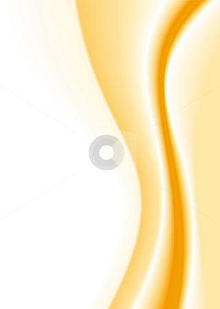 Subtle melt stock photo, Smooth golden background like melted butter and copy space by Michael Travers