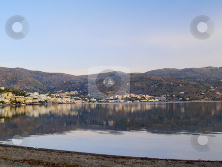 Elounda stock photo, Elounda, crete, greece in early morning light by Torsten Lorenz