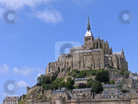 Le Mont-Saint-Michel, Monastery complex, Normandy, Northern France stock photo, Le Mont-Saint-Michel, Monastery complex, Normandy, Northern France by Lothar Hinz