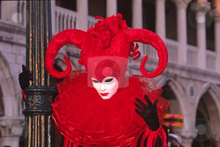 Carnival in Venice, Italy stock photo, Carnival in Venice, Italy by Lothar Hinz