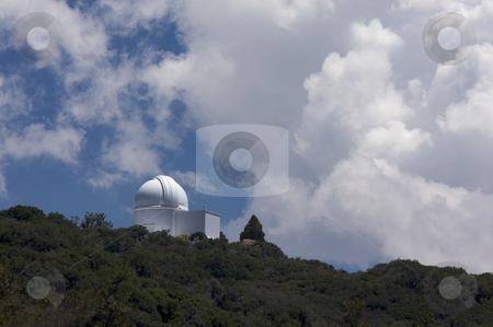 Mt. Palomar Observatory stock photo, Mt. Palomar Observatory in Southern California by Andy Dean