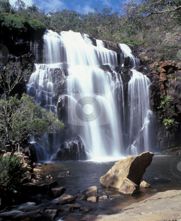 MacKenzie falls stock photo, MacKenzie falls in Australia Victoria state by Seregey Korotkov