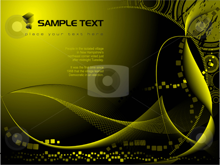 Abstract hi-tech background stock vector clipart, Abstract hi-tech background vector illustration by Leonid Dorfman