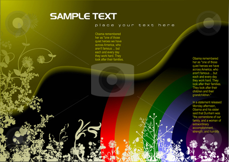 Hi-tech background stock vector clipart, Hi-tech background  by Leonid Dorfman