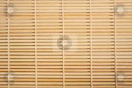 Macro Bamboo Background stock photo, Macro Bamboo Background Bound with String. by Andy Dean