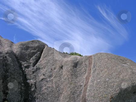 Rocks near Ploumanach, Brittany, Northern France stock photo, Rocks near Ploumanach, Brittany, Northern France by Lothar Hinz