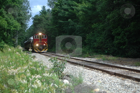 On Coming Train stock photo,  by Richard Sheehan