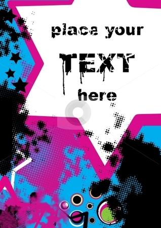 Retro background stock vector clipart, Retro grunge background, vector illustration by Milsi Art
