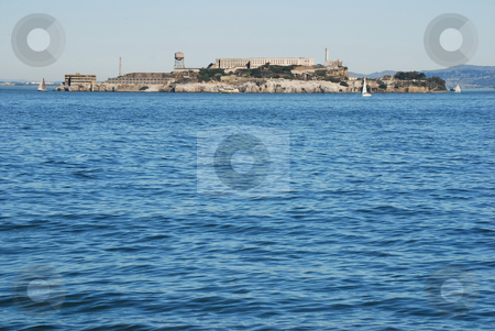 Alcatraz Island stock photo, Alcatraz Island in San Francisco. by Steven Kapinos