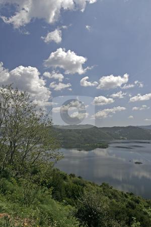 Lake Lago della Liscia, Reservoir, Sardinia, Italy stock photo, Lake Lago della Liscia, Reservoir, Sardinia, Italy by Lothar Hinz