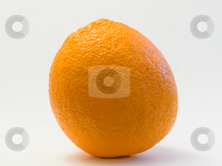 Orange isolated  stock photo, Orange isolated on a white background. by FEL Yannick