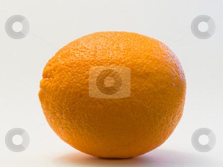 Orange isolated  stock photo, Orange isolated on a white background. by FEL Yannick
