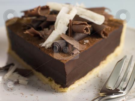Tarte au Chocolat stock photo,  by Monkey Business Images