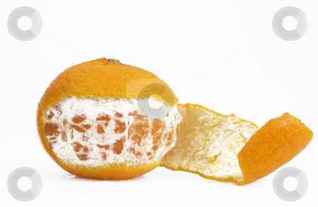 Orange peeled stock photo, Oragne peeled by John Teeter