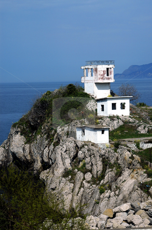 The Cliff stock photo, Cliff in the city of amasra at black sea by Kobby Dagan