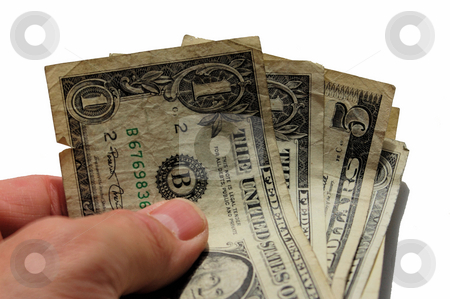 Cash in hand stock photo, Money is your hands ready to spend by Tim Markley