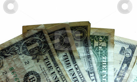 A few dollars stock photo, A few US dollars ready to spend by Tim Markley