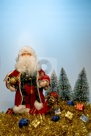 Santa Claus stock photo, That joly old elf known better as Santa Claus. by Robert Byron