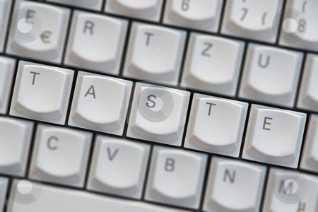 Computer keyboard stock photo,  by Wolfgang Heidasch