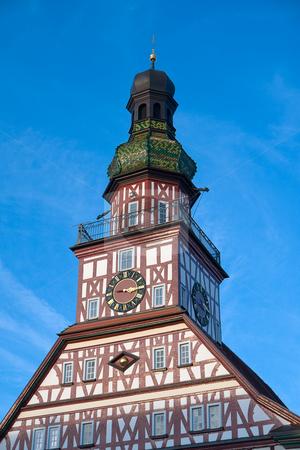 Rathaus Kircheim unter Teck stock photo, Kirchheim unter Teck ist eine Stadt in Baden-W?rttemberg, Deutschland, im S?dosten der Region Stuttgart etwa 25 km s?d?stlich von Stuttgart. by Wolfgang Heidasch