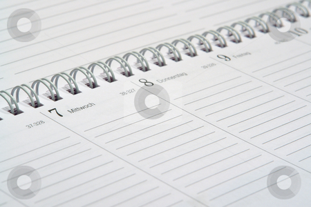 Kalenderblatt, Terminplaner stock photo, Kalenderblatt, Terminplaner by Wolfgang Heidasch