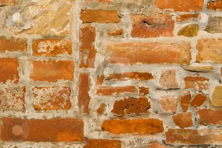 Hauswand eines toskanischen Hauses stock photo, Hauswand eines toskanischen Hauses by Wolfgang Heidasch